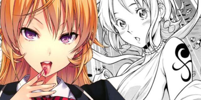 One Piece Food Wars Shokugeki no Sanji Zoro Nami Cameo Spoilers Manga
