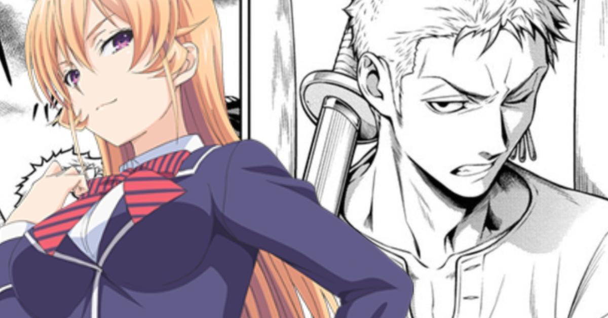One Piece Food Wars Shokugeki no Sanji Zoro Teamwork Spoilers Manga