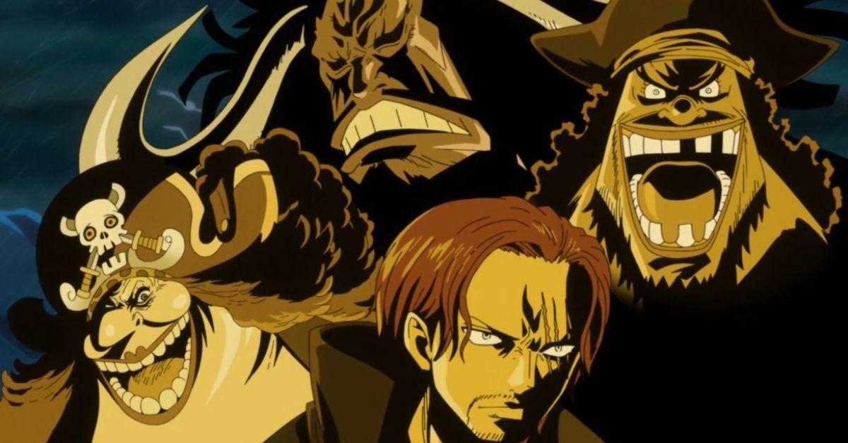 One Piece Four Emperors Yonko Anime