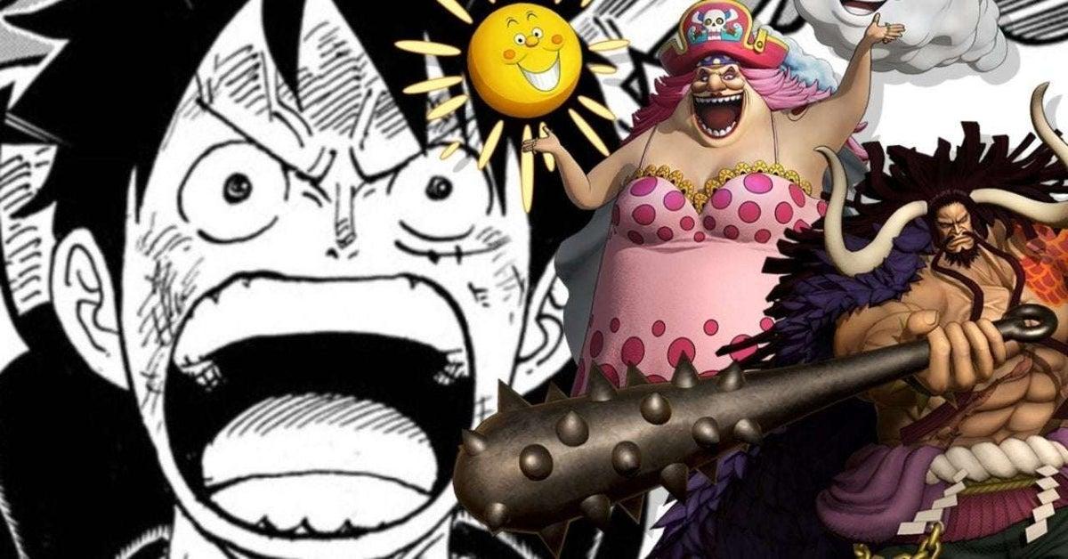 One Piece Kaido Big Mom Fight