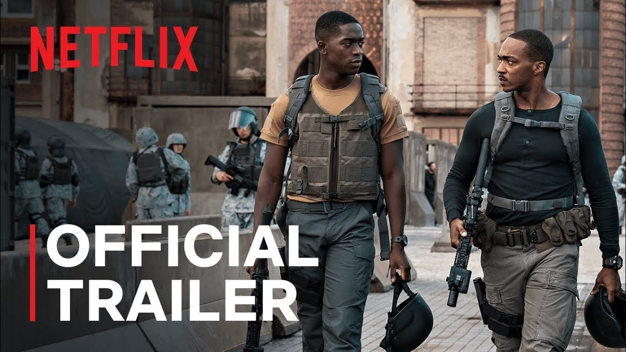 outside the wire anthony mackie netflix