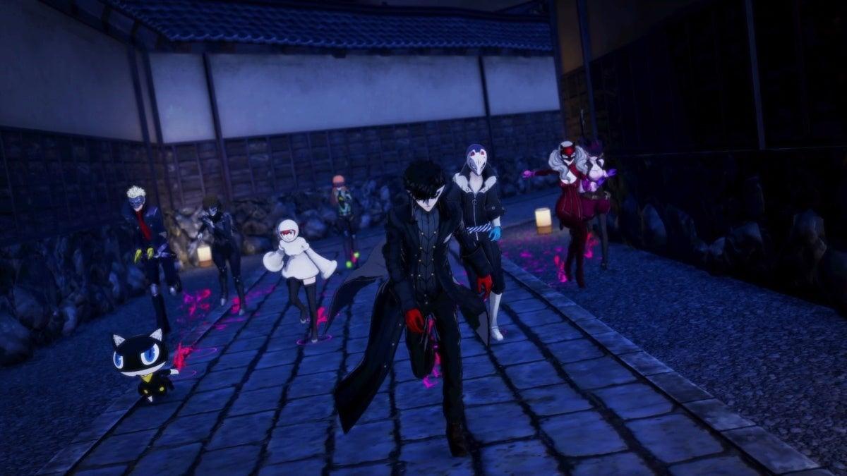 persona 5 strikers phantom thieves
