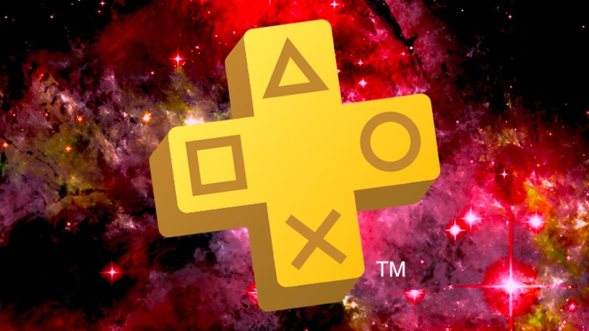 playstation plus space red