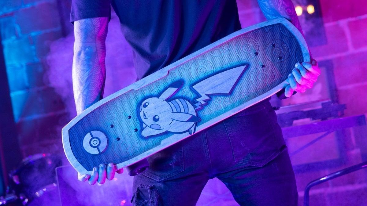 pokemon 25 bear walker skateboard new cropped hed