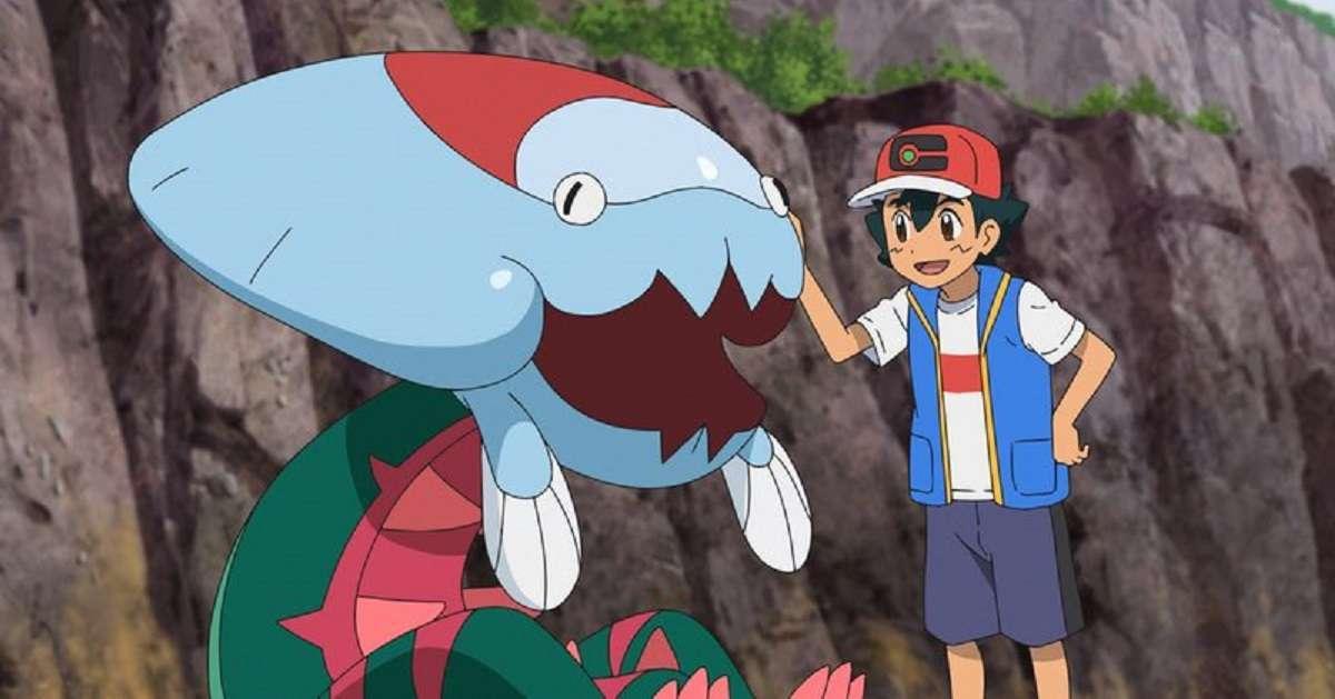Pokemon Journeys Ash First Fossil