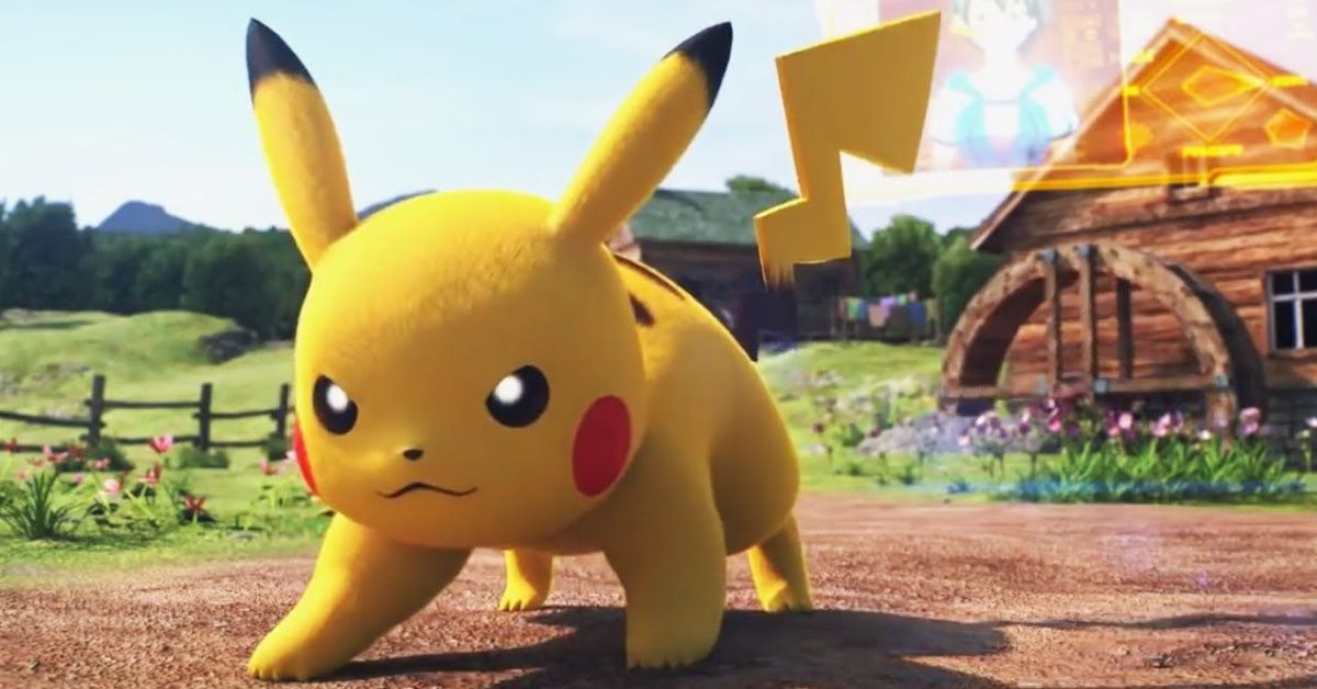 Pokemon Pikachu Pokken