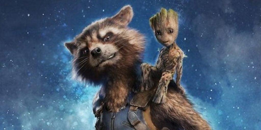 rocket raccoon mcu art