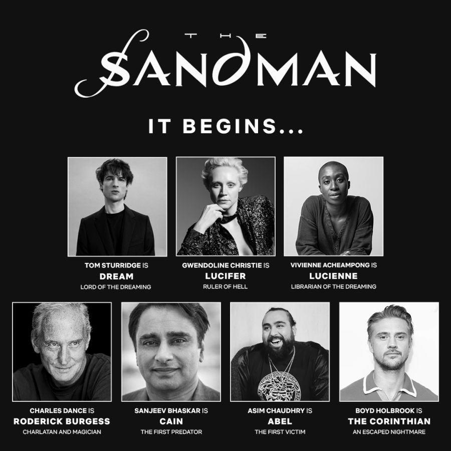 sandman cast grid