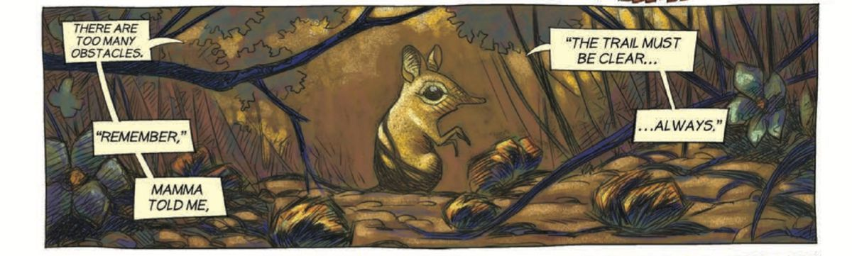 Sengi and Tembo #1 Review - Sengi