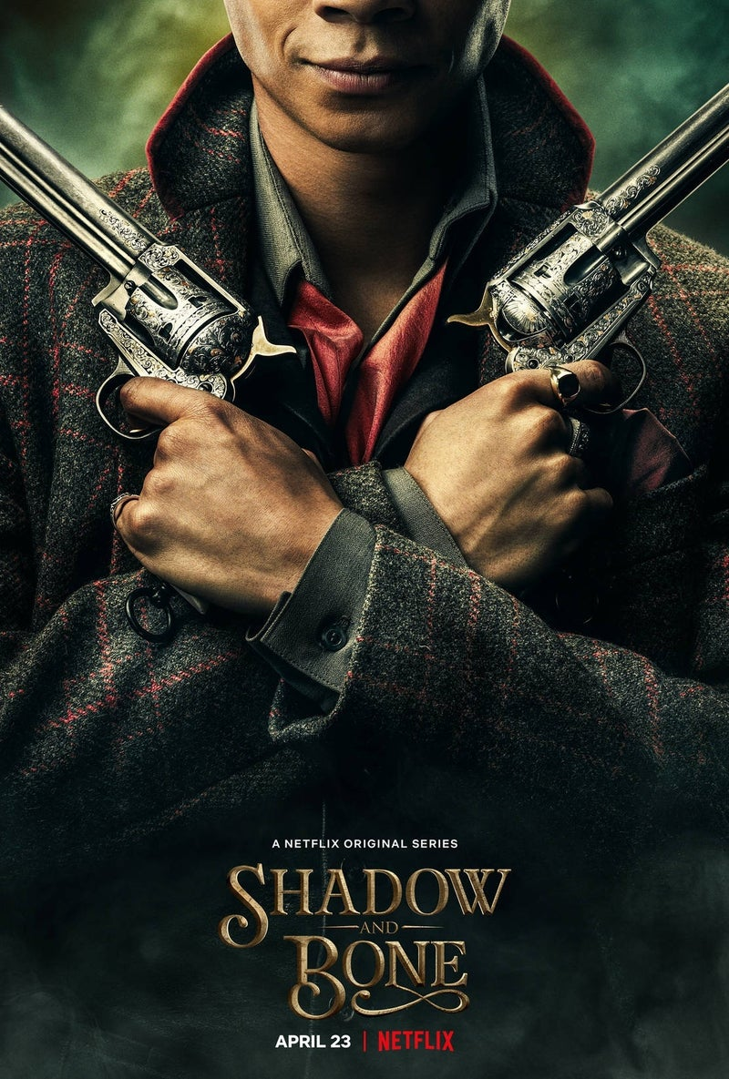 shadow and bone character poster netflix 2