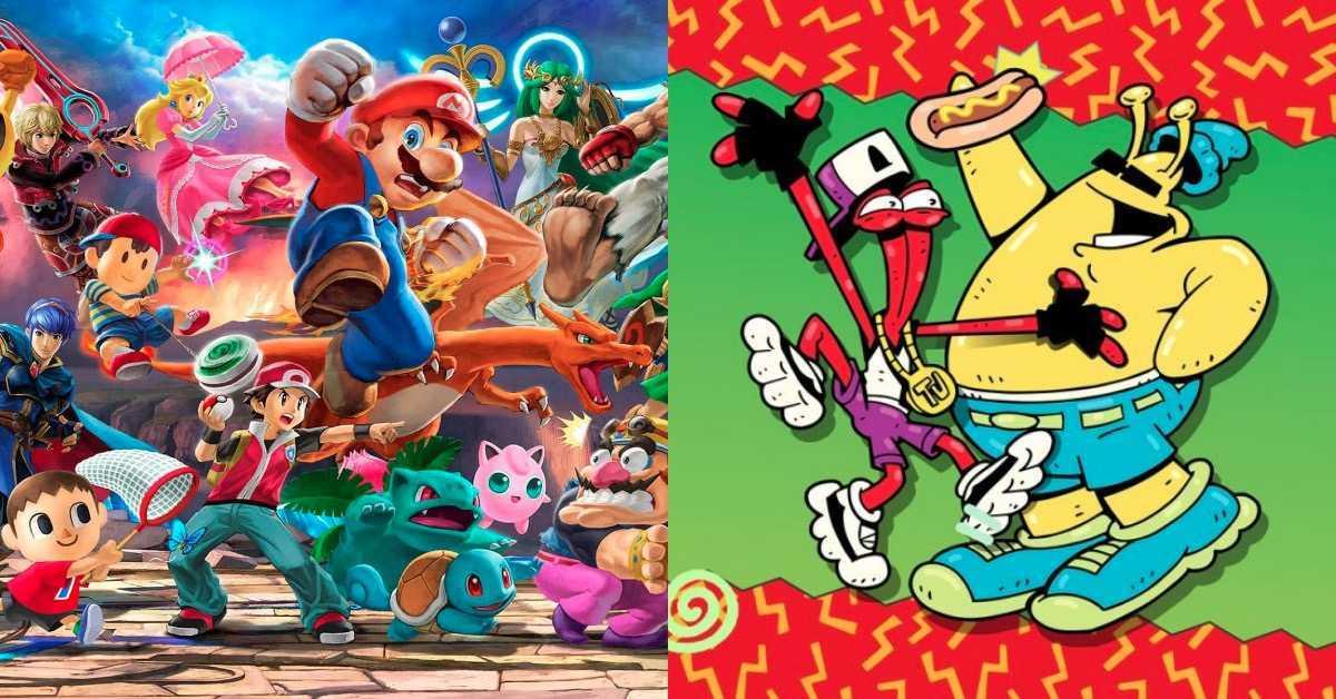 Smash Bros ToeJam