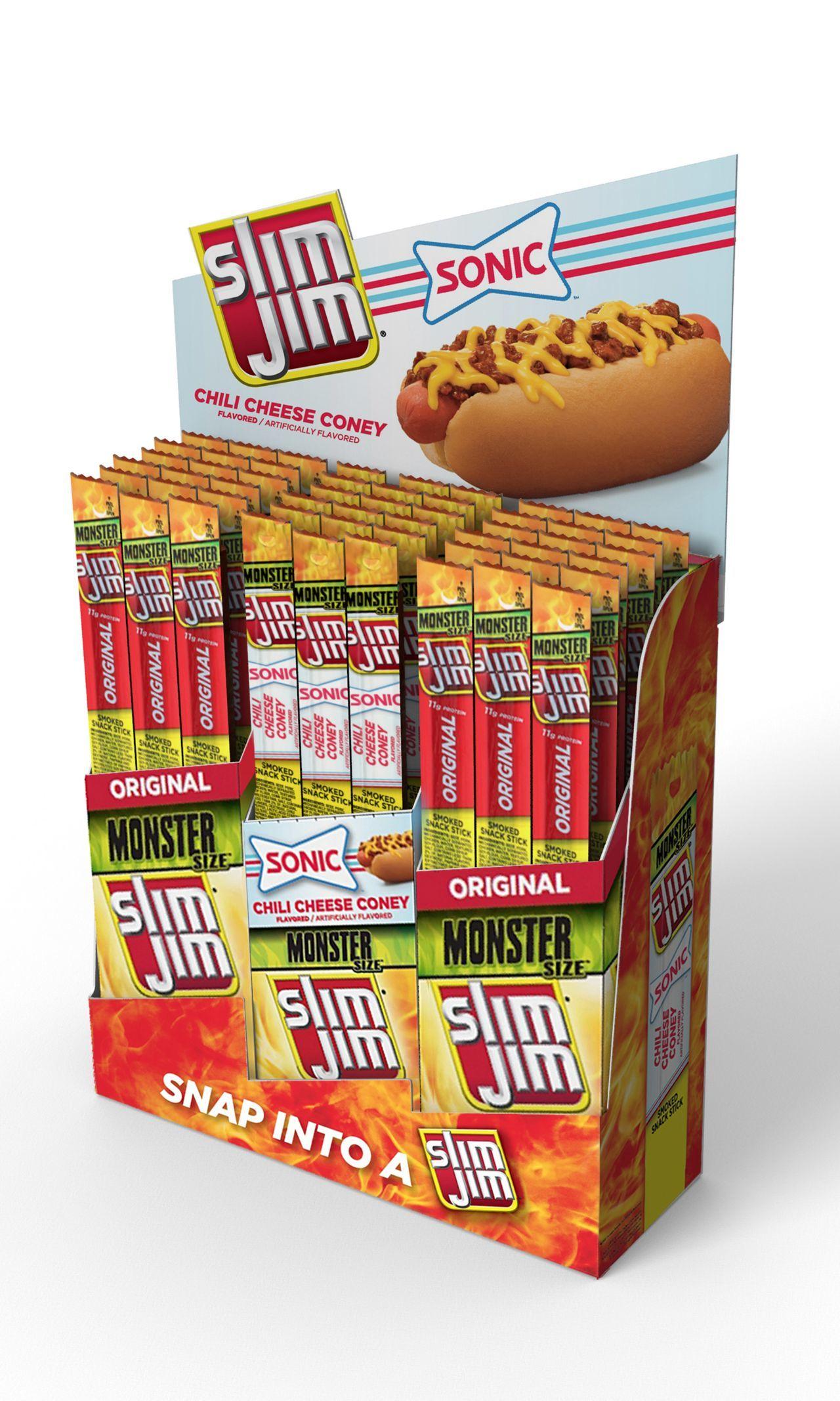 SONIC Chili Cheese Coney Flavored Slim Jim
