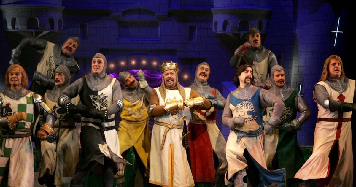 spamalot monty python and the holy grail musical
