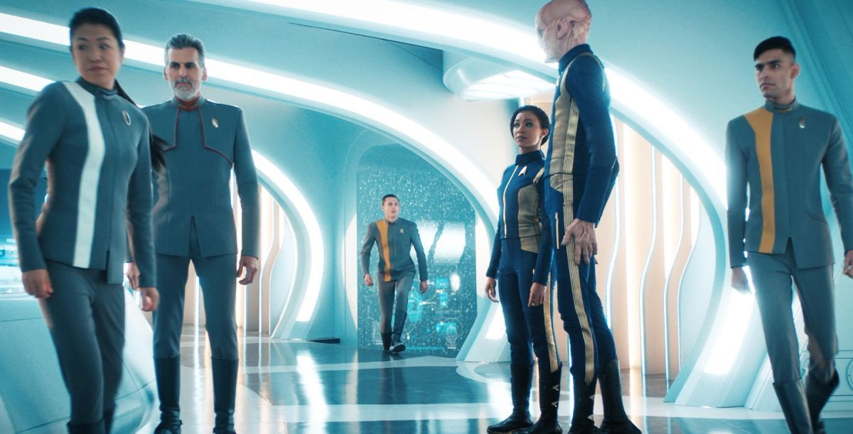 Star Trek Discovery New Starfleet Uniforms