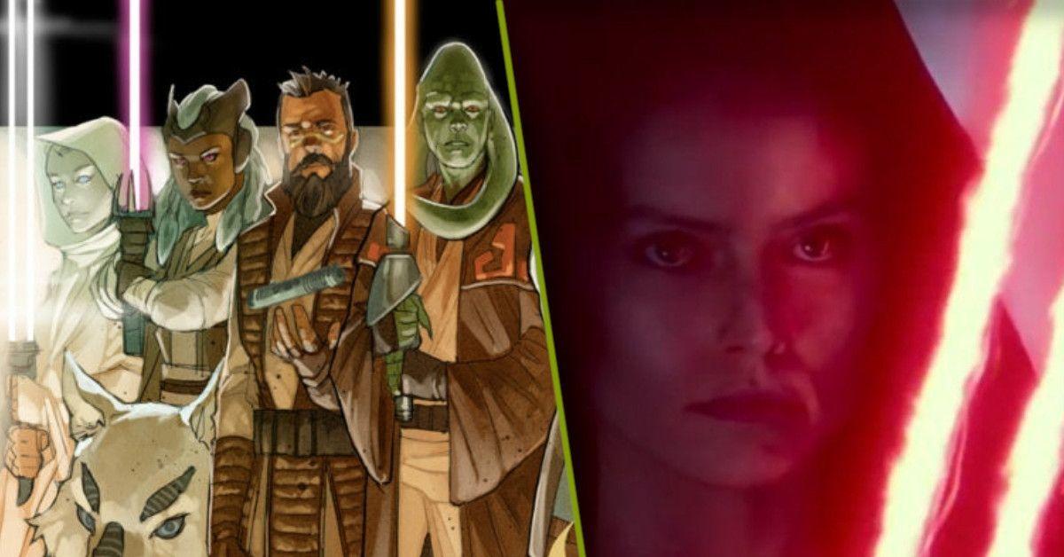 Star Wars Dark Rey High Republic Hinged Lightsaber
