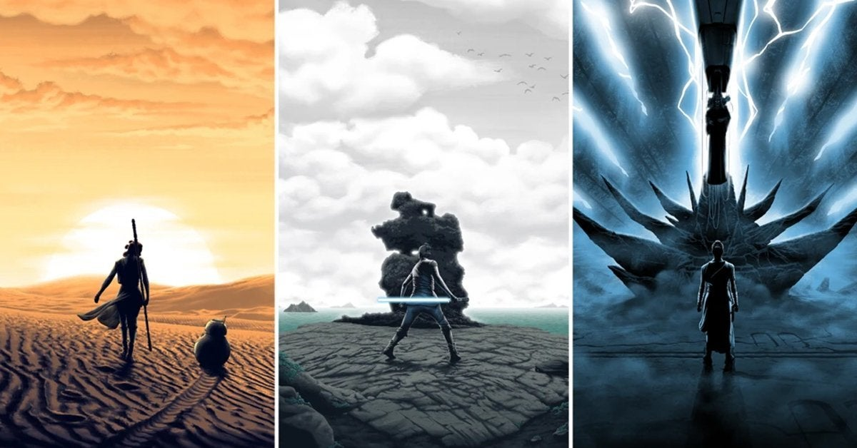 star wars sequel trilogy prints posters bottleneck gallery header