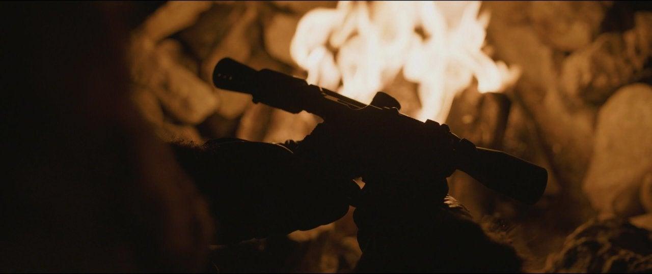 star wars solo movie blaster gun