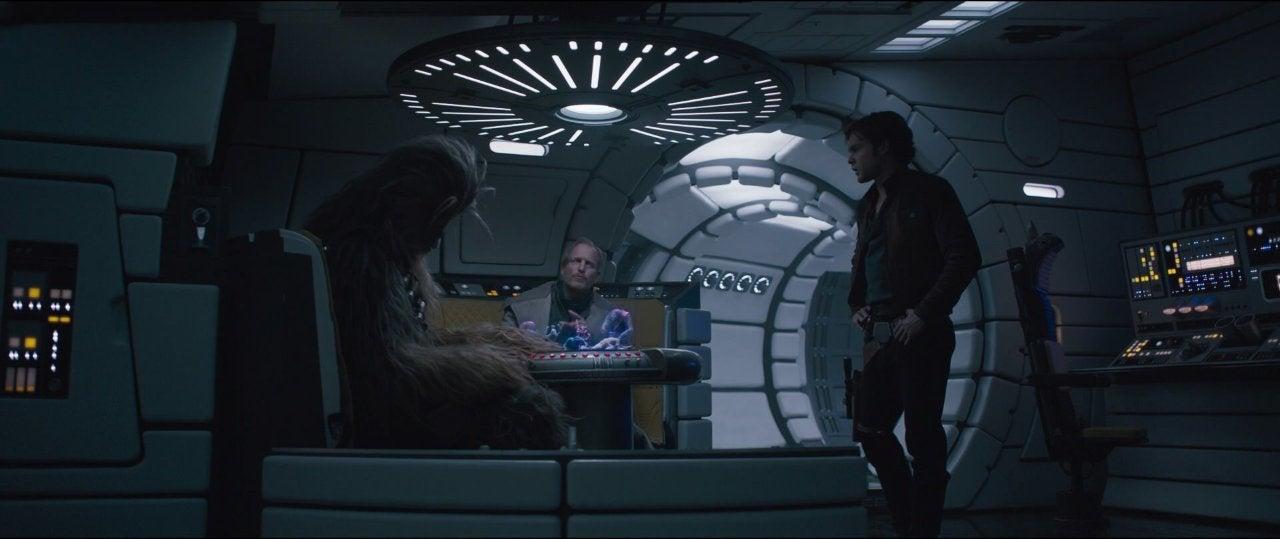 star wars solo movie han chewbacca millennium falcon