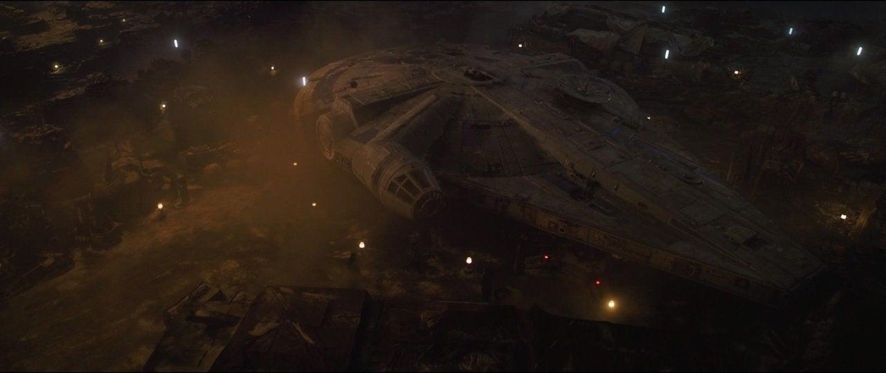 star wars solo movie millennium falcon