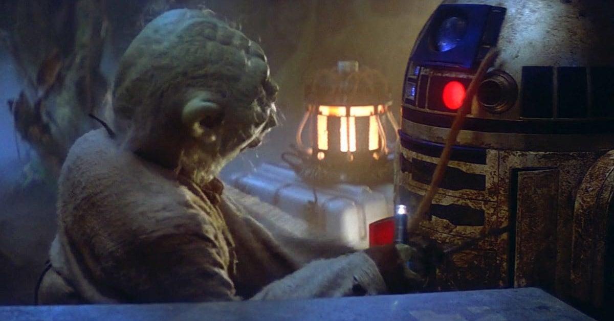 star wars the empire strikes back yoda r2d2
