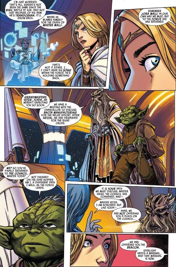 Star Wars The High Republic Comic Young Yoda Marvel