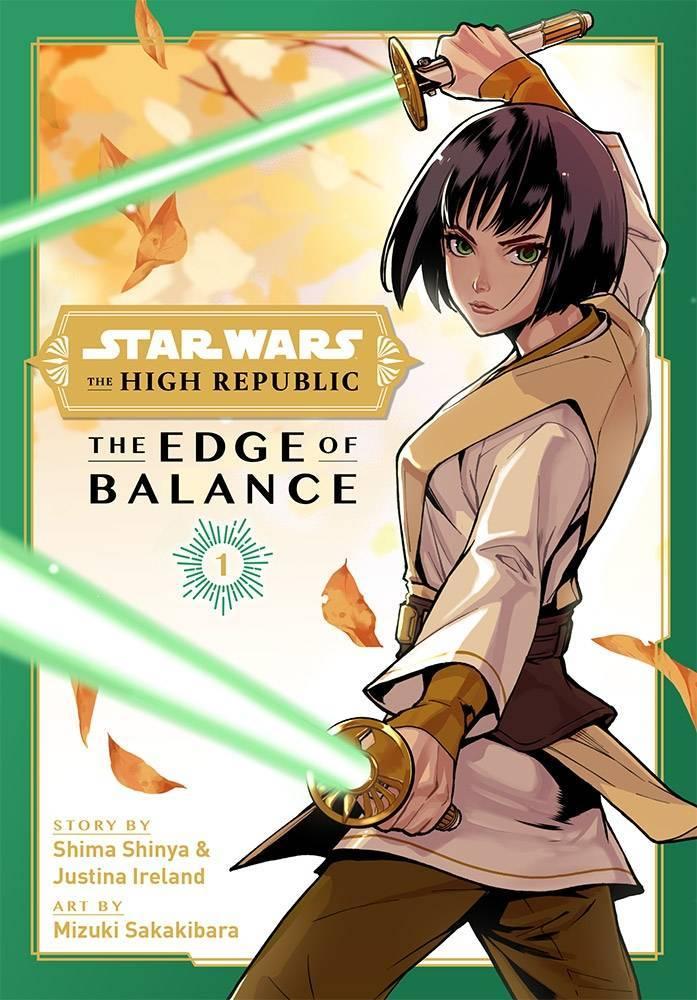 Star Wars The High Republic Manga The Edge of Balance Viz Media Cover