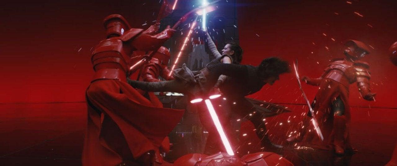 star wars the last jedi kylo ren rey throne fight