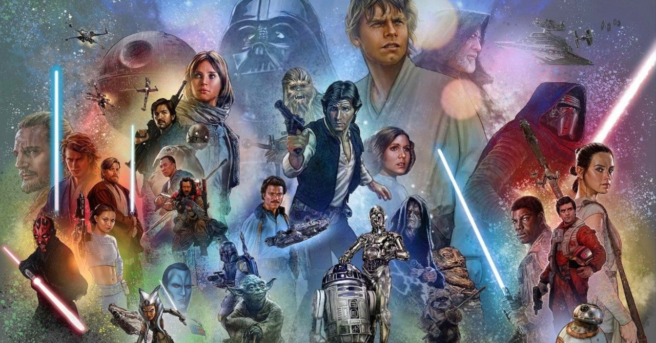 Star Wars Official New Timeline Updated For The High Republic