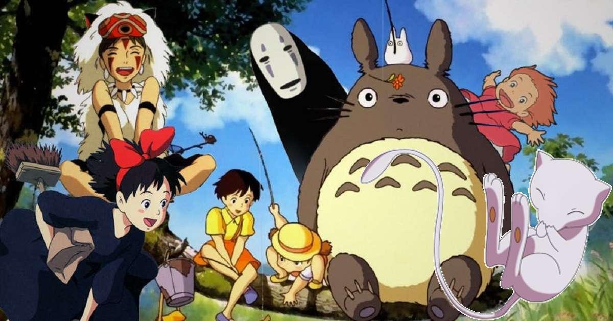 Studio Ghibli Pokemon