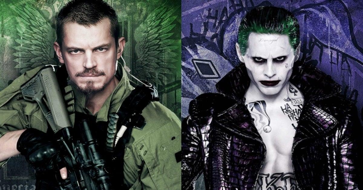 Suicide Squad Jared Leto Joker Joel Kinnaman