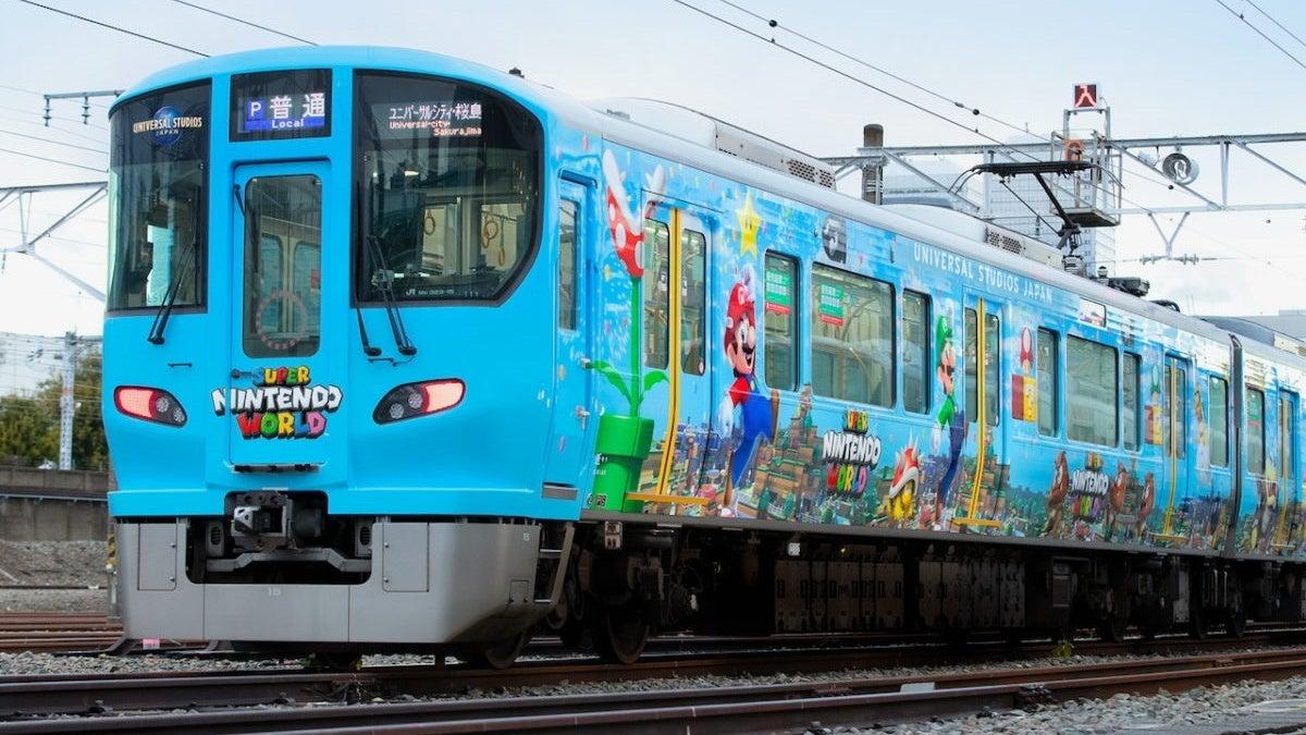 super nintendo world train 1
