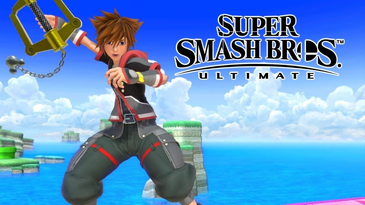 super smash bros ultimate sora mod new cropped hed