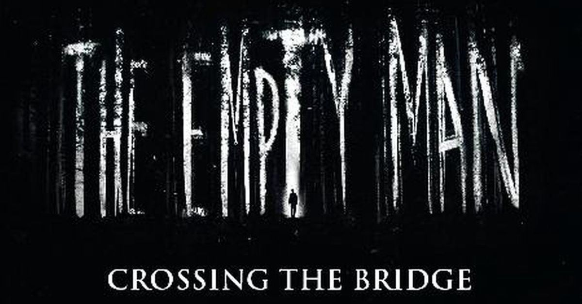 the empty man crossing the bridge header