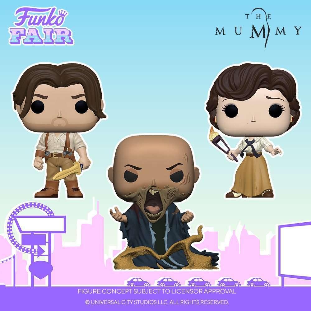 the-mummy-funko-pops