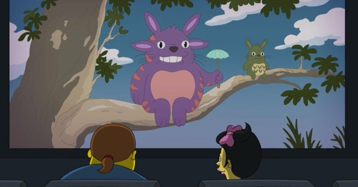 The Simpsons Miyazaki Ghibli Totoro References New Episode 2021