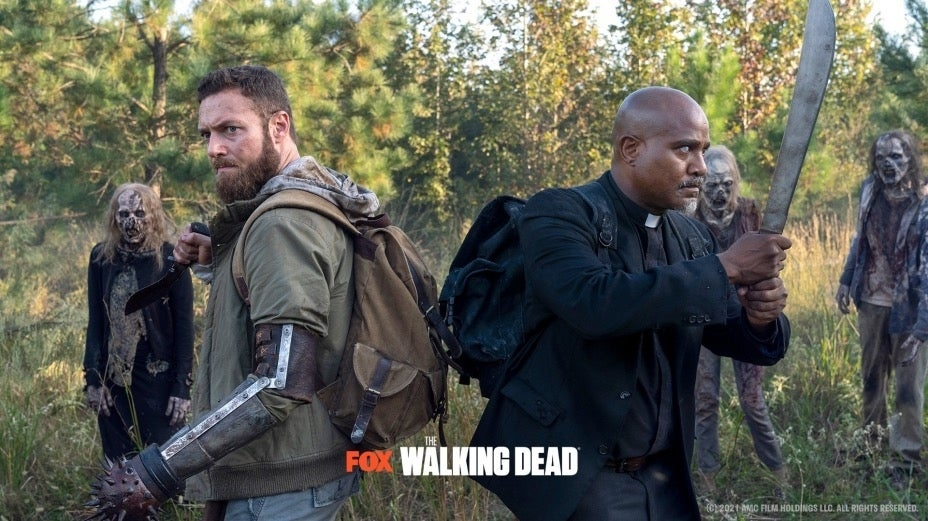 The Walking Dead Extended Season 10 One More Ross Marquand Seth Gilliam