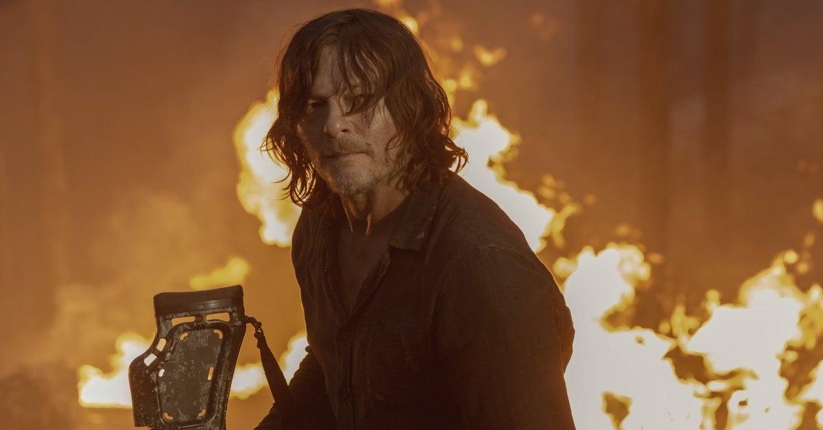 The Walking Dead Season 10 Daryl Norman Reedus