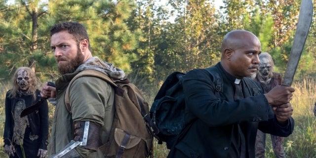 The Walking Dead Season 10 One More Aaron Father Gabriel