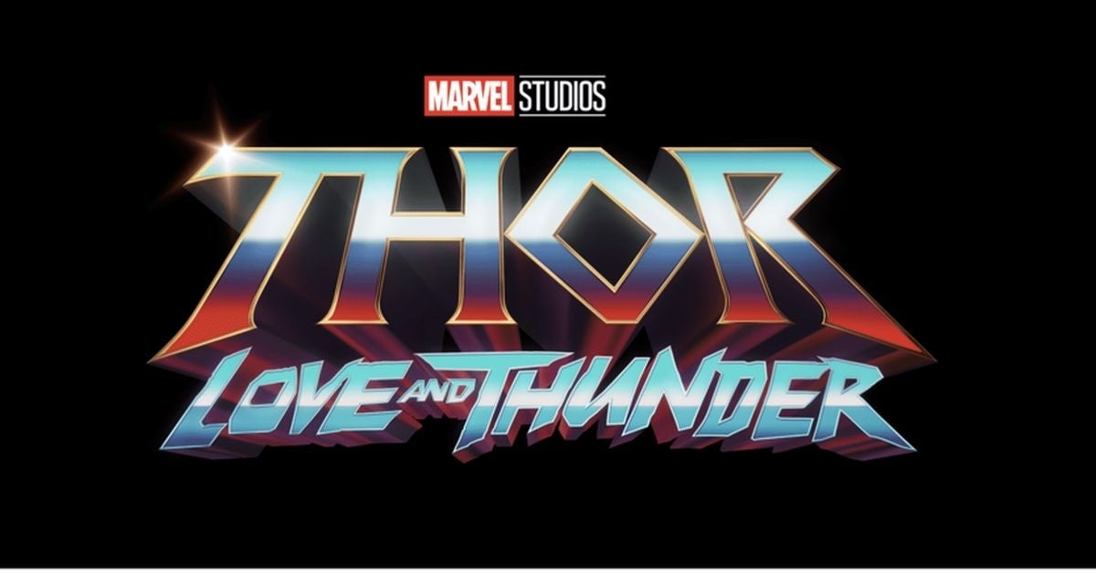 thor love and thunder logo marvel studios