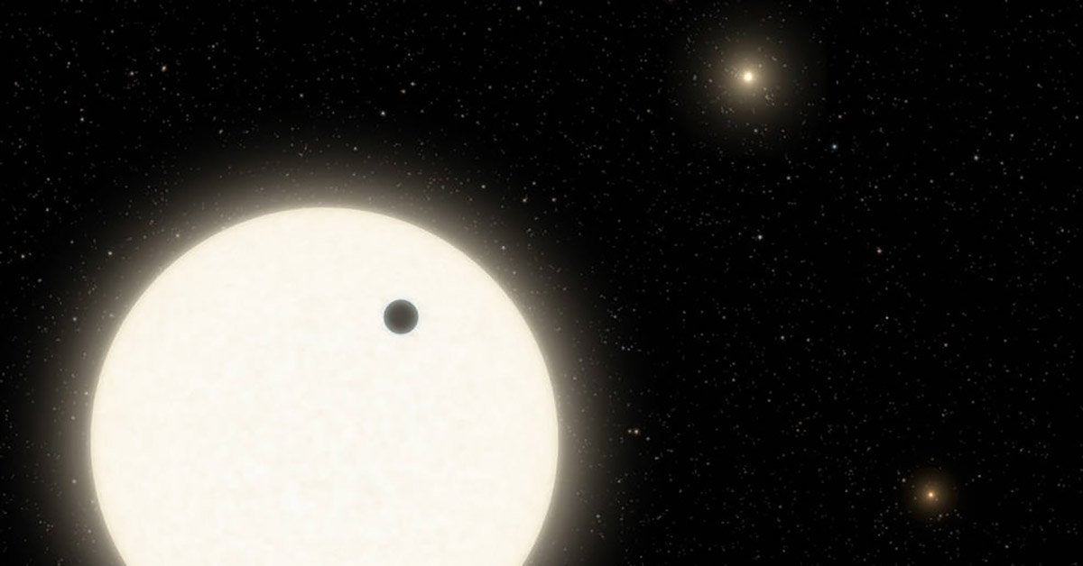 three sun planet nasa