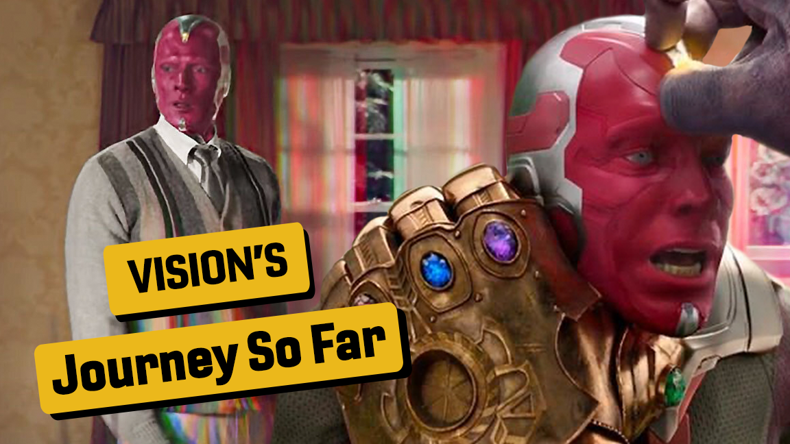 Vision's MCU Journey So Far (Before WandaVision)