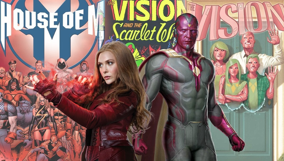 WandaVision_Comics