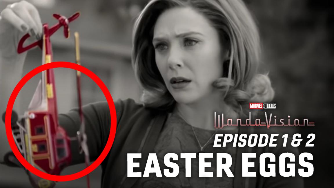 WandaVision Easter Eggs - Episode 1 & 2