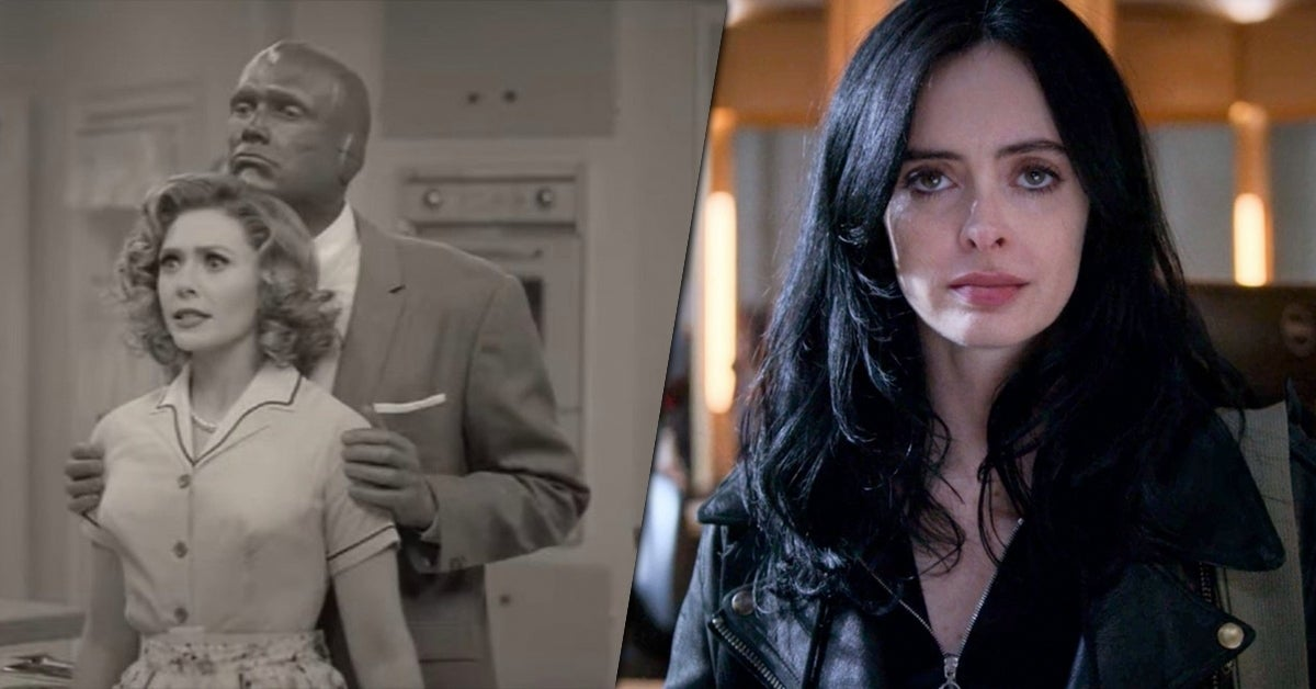 wandavision jessica jones easter egg