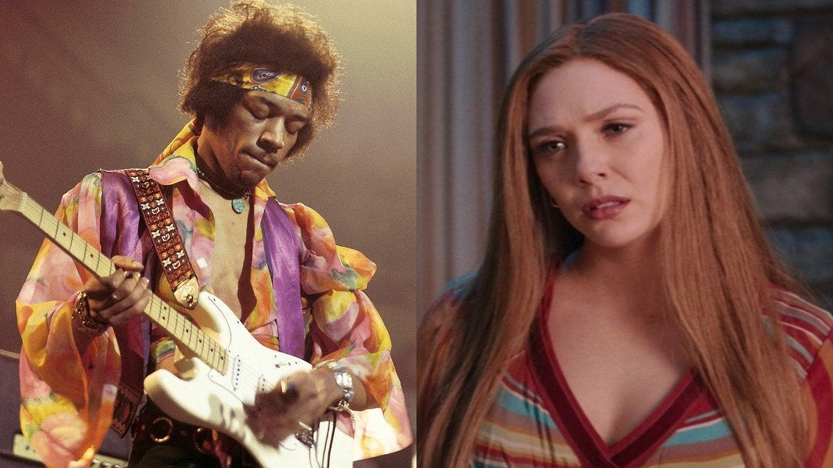 Wandavision Jimi Hendrix