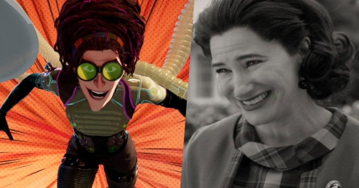 WandaVision Kathryn Hahn Spider-Verse Doc Ock
