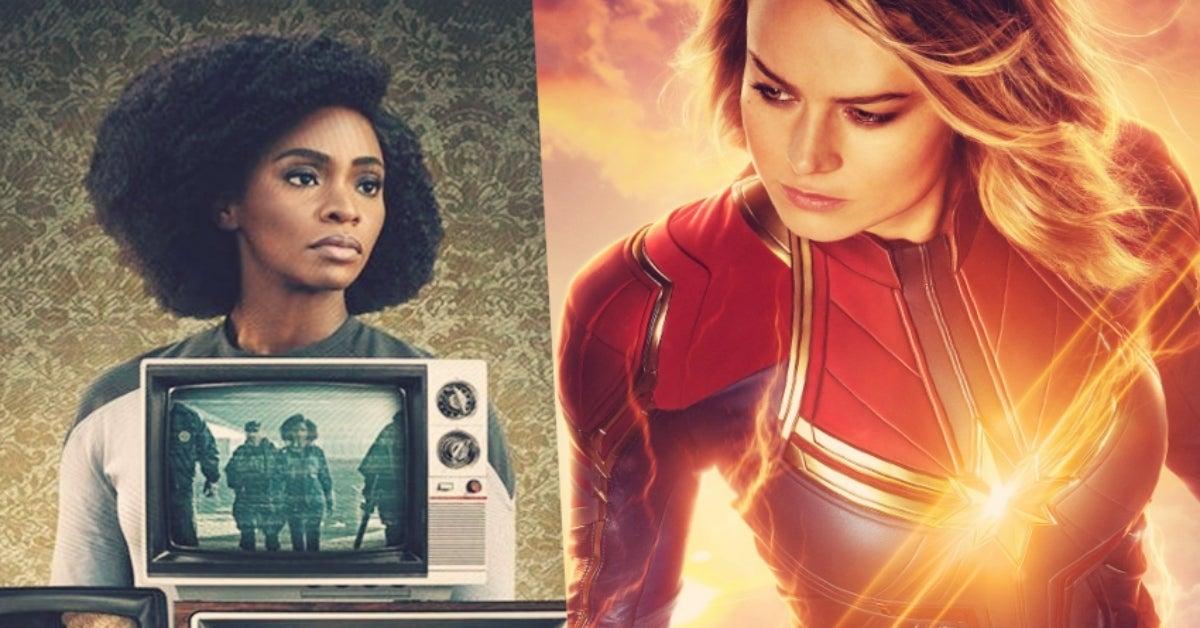 WandaVision Monica Rambeau Teyonah Parris Captain Marvel Brie Larson