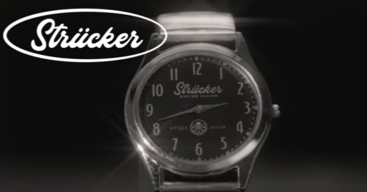 comicbook.com - Cameron Bonomolo - Marvel's WandaVision Merchandise Includes a Strucker Watch Advertised in the Show