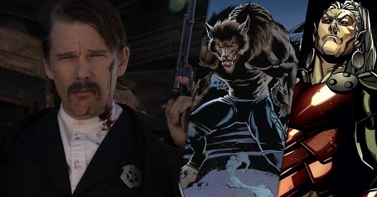 who is ethan hawke playing moon knight