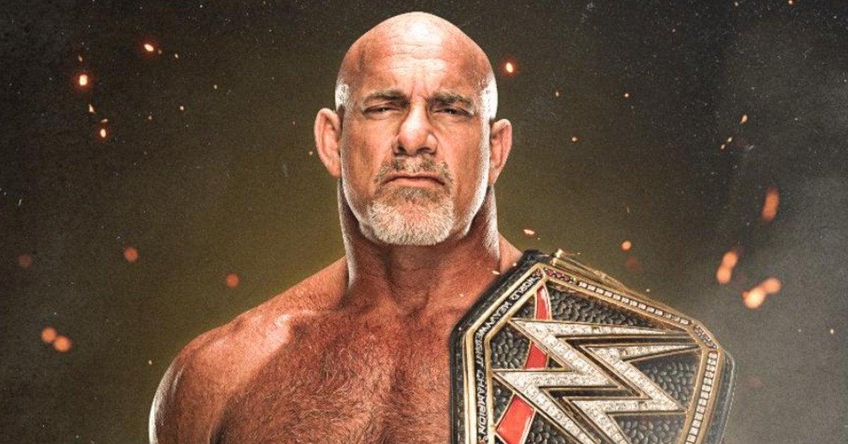 WWE-Goldberg-WWE-Championship-Belt